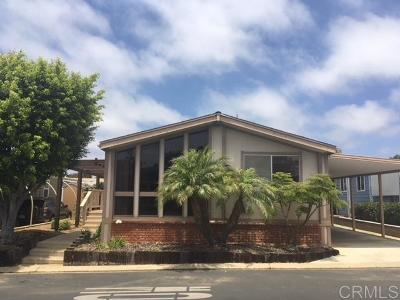 Mobile/Manufactured Sold: 7264 San Luis #272