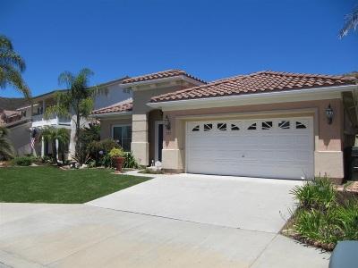 San Marcos Single Family Home Contingent: 729 Via Barquero