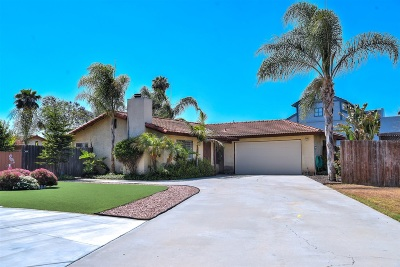 Poway Single Family Home For Sale: 13265 Vista View Ct