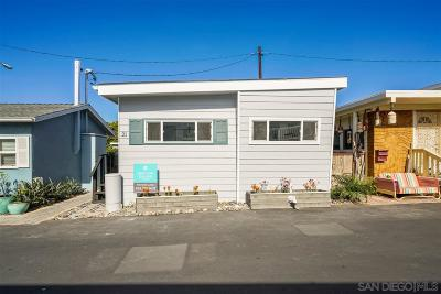 Encinitas Mobile/Manufactured For Sale: 170 Diana St #21