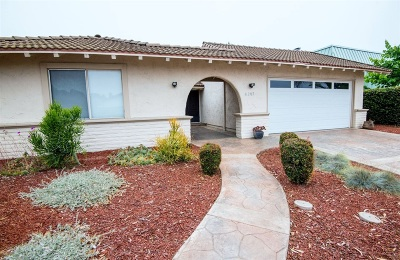 San Diego CA Single Family Home Contingent: $749,000