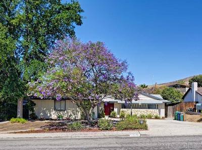 Santee Single Family Home For Sale: 9628 Saint Andrews Dr