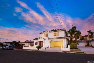 San Diego Single Family Home Pending: 5855 Carnegie Street