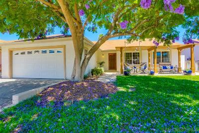 Poway Single Family Home For Sale: 13515 El Mar Avenue