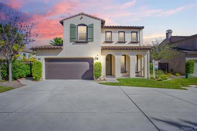 San Marcos Single Family Home Sold: 509 Camino De La Paz