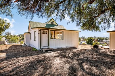 Escondido Single Family Home For Sale: 1127 Rees Rd