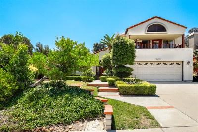 Single Family Home For Sale: 17849 Aguamiel Rd