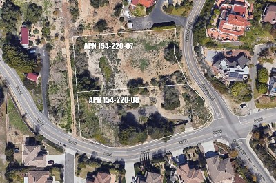 Oceanside Residential Lots & Land For Sale: Avocado & Ivy #P-5-4