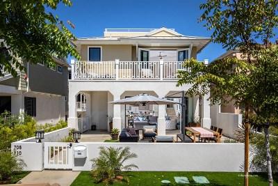 Coronado Single Family Home For Sale: 708 E Avenue