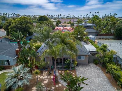 Oceanside Single Family Home For Sale: 1705 S Horne St