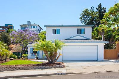 San Diego Single Family Home For Sale: 6491 Clara Lee