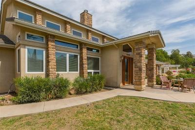 San Diego County Single Family Home For Sale: 14428 Willow Rd.