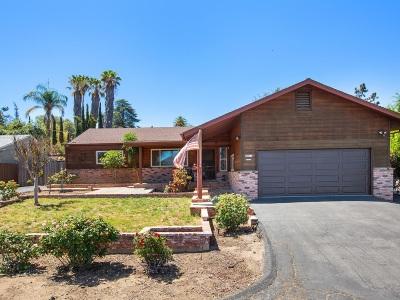 Escondido Single Family Home For Sale: 2019 Mountain View Drive
