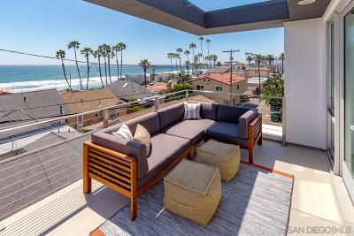 Oceanside Townhouse For Sale: 313 S Myers Street #2