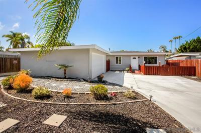 Carlsbad Single Family Home For Sale: 1075 Buena Pl