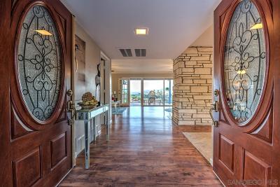 Escondido Single Family Home Sold: 2547 La Serena