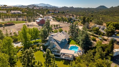 Valley Center Single Family Home For Sale: 30412 Cool Valley Highlands Rd.