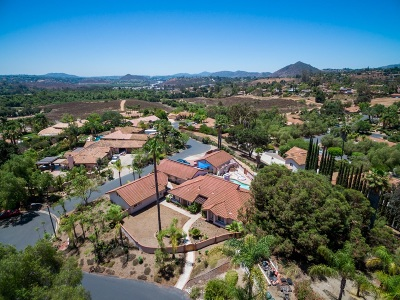 Escondido Single Family Home For Sale: 312 Montecito Gln