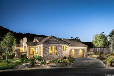 Valley Center Single Family Home Contingent: 27034 Sunningdale Way