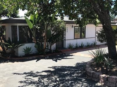 Solana Beach Single Family Home For Sale: 735 S Cedros