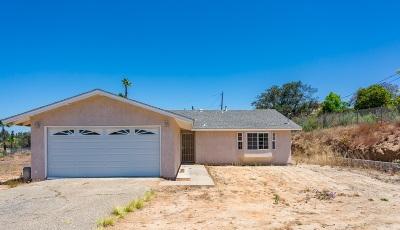 Escondido Single Family Home For Sale: 10010 Covey Lane