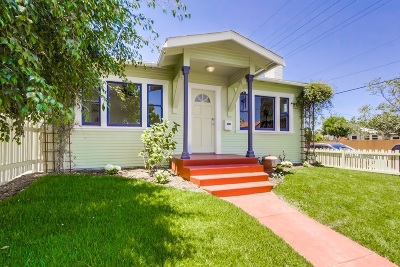 Norma Heights, Normal Heights Single Family Home For Sale: 4490 Swift Avenue