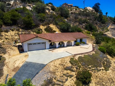 Bonsall Single Family Home For Sale: 32721 Mountain View Rd