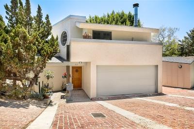 Hillcrest, Hillcrest North Park, Hillcrest/Balboa Park, Hillcrest/Bankers Hill, Hillcrest/Mission Hills, Hillcrest/University Heights Single Family Home For Sale: 417 Sloane St