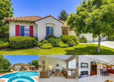 Fallbrook Single Family Home For Sale: 2122 Castlebay