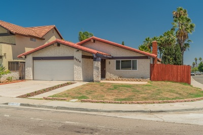 Single Family Home For Sale: 8924 Capricorn Way