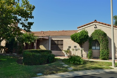 Escondido Single Family Home For Sale: 1767 Capistrano Glen