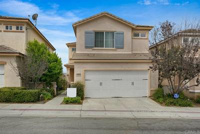 Bonsall Single Family Home For Sale: 5757 Camino Del Cielo