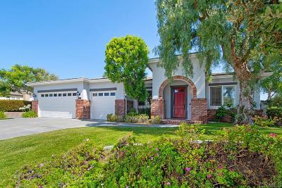 La Costa Valley Single Family Home Sold: 3012 Camino Serbal