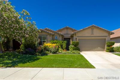 Murrieta, Temecula Single Family Home For Sale: 39289 Beringer Dr
