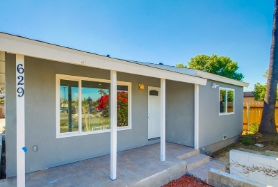Vista Single Family Home For Sale: 629 N Santa Fe Avenue