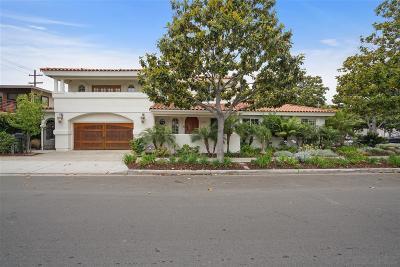 Coronado Single Family Home For Sale: 700 2nd Street