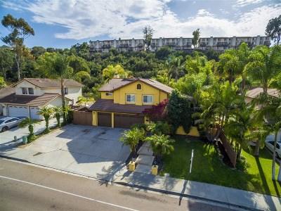 Bonita Single Family Home For Sale: 564 Canyon Drive