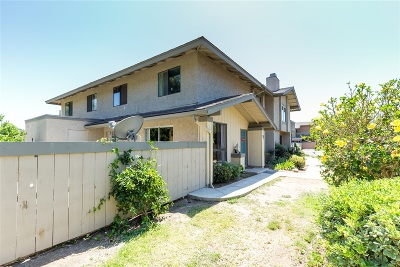 Chula Vista Townhouse For Sale: 315 Rancho Dr. #D
