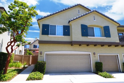 Chula Vista Townhouse For Sale: 1838 Toulouse Dr
