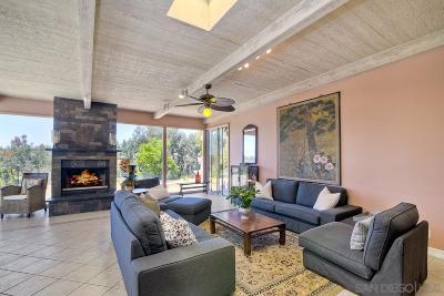 San Diego Single Family Home For Sale: 12001 Verano Ct