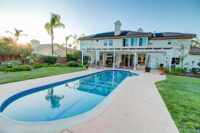 Oceanside Single Family Home For Sale: 5855 Ranch View Rd.