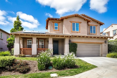 San Marcos Single Family Home For Sale: 860 Orion Way
