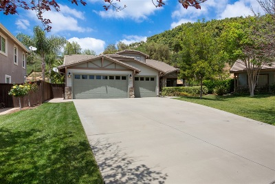 Escondido Single Family Home Sold: 3332 Oak Forest Pl