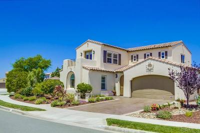 La Costa Oaks Single Family Home Sold: 3432 Corte Altura