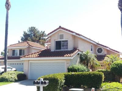 Vista Single Family Home For Sale: 1127 Ballata Ct