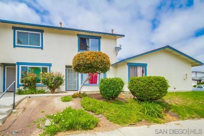 Oceanside Townhouse For Sale: 3473 Seabreeze Walk