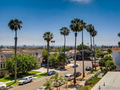 Pacific Beach, Pacific Beach Sail Bay, Pacific Beach, North Pacific Beach, Pacific Beach/Crown Point Townhouse For Sale: 1660 Chalcedony St #F