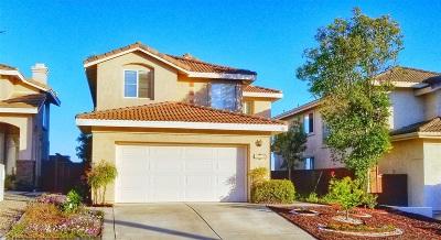 Escondido Single Family Home For Sale: 2413 Moonlight Glen
