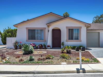 Oceanside Condo For Sale: 3915 San Pablo Ave