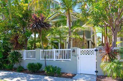Pacific Beach, Pacific Beach Sail Bay, Pacific Beach, North Pacific Beach, Pacific Beach/Crown Point Single Family Home For Sale: 1122 Thomas